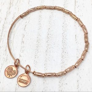 ALEX AND ANI Shiny Rose Gold Beaded 💫2 Free Gifts